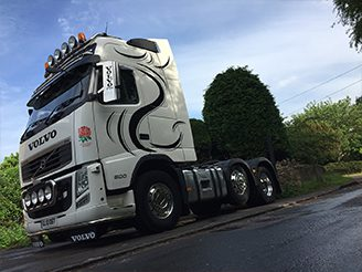 lorry wrap